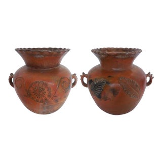 19th Century Ceramic Large Pots For Sale
