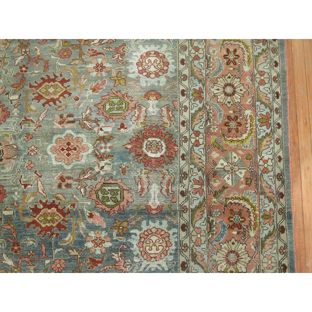 Antique Malayer Rug, 9' X 11'8'' For Sale - Image 4 of 11