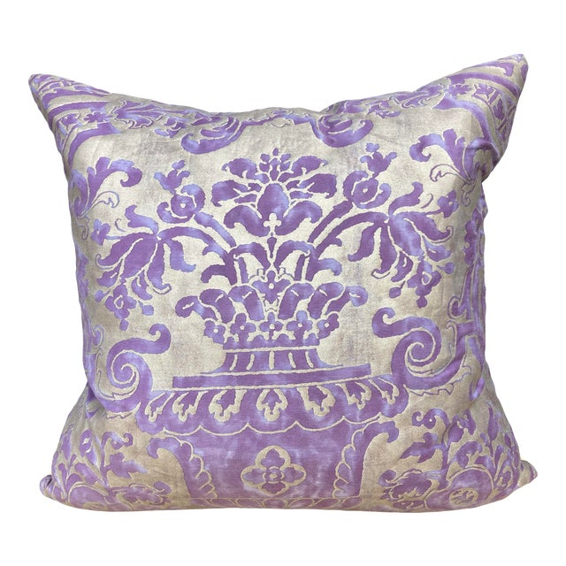 Fortuny Carnavalet Pillow For Sale