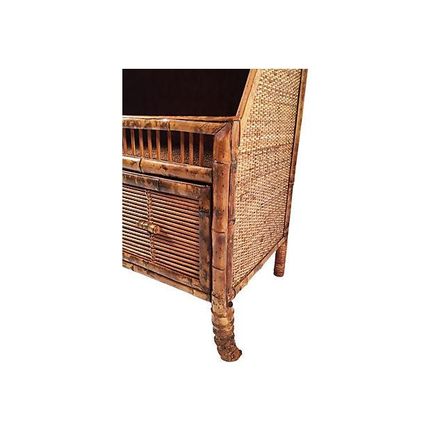 Rattan Storage Cabinet - Image 6 of 7