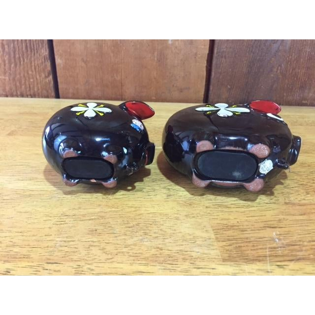Hand Painted Tilso Piggy Banks - A Pair For Sale - Image 5 of 7