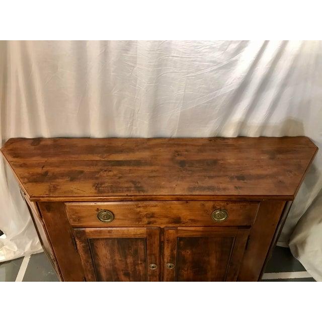 Wood Unusual Napoleon III Walnut Buffet For Sale - Image 7 of 8