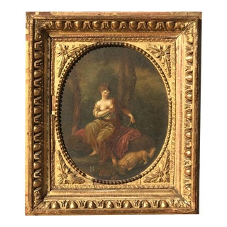 Oil on Board, School of Angelica Kauffman, 1810 For Sale