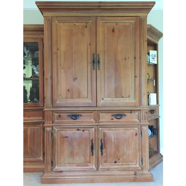 Thomasville Santiago Entertainment Center / Armoire For Sale - Image 11 of 11