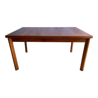 Danish Modern Brdr Furbo Extendable Table For Sale
