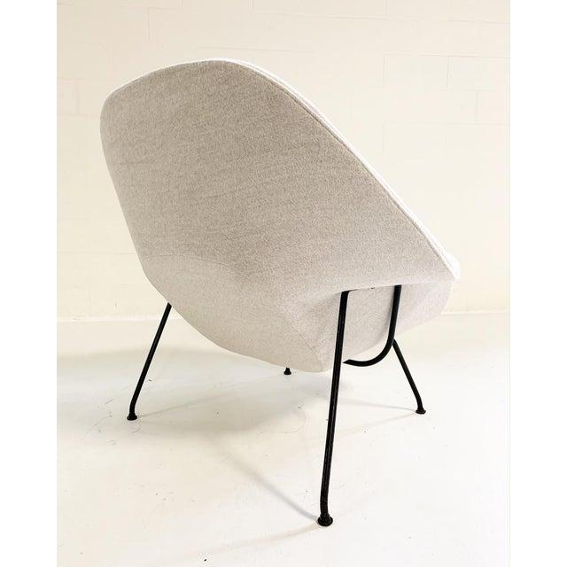 Eero Saarinen Womb Chair in Loro Piana Alpaca Wool For Sale In Saint Louis - Image 6 of 13