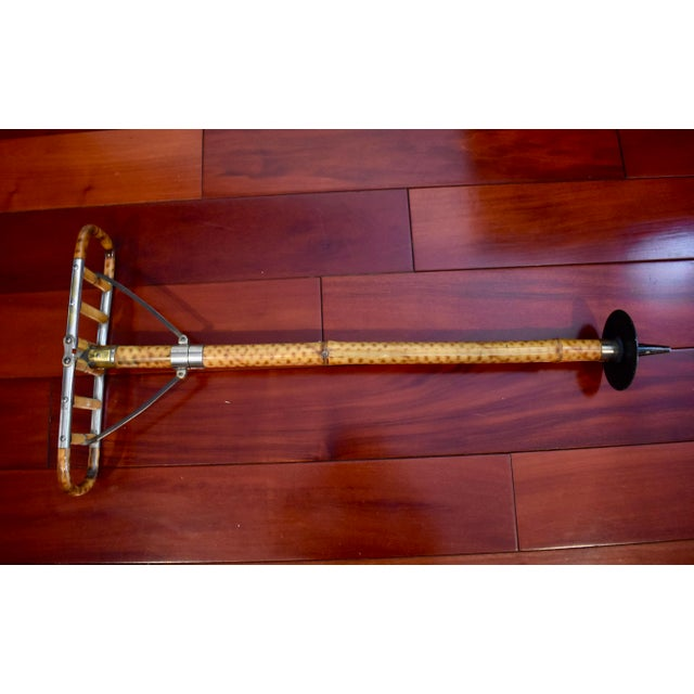 Bamboo Victorian English Bamboo Shooting Stick / Sports Cane For Sale - Image 7 of 11