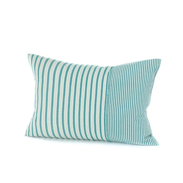 Highlands Striped Pillow Cover in Tulum - Image 2 of 4