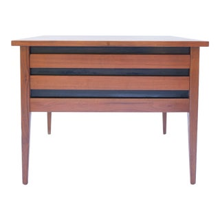 Dillingham Furniture Esprit Collection Mid Century Modern End Table For Sale
