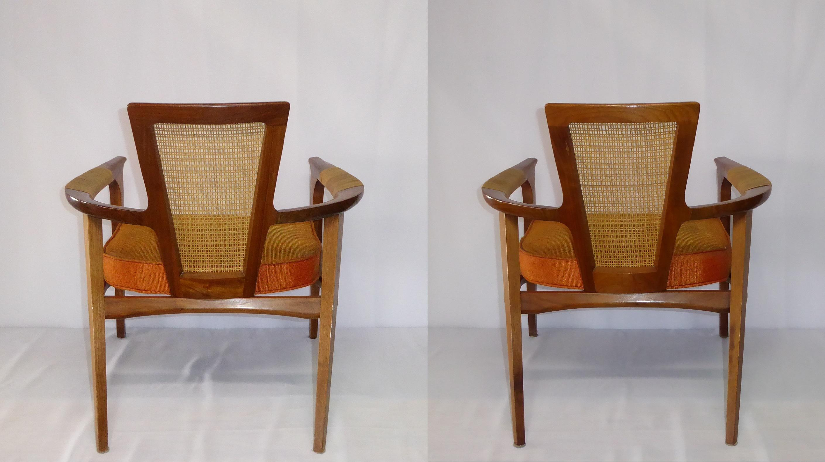 Urban Furniture 1950s Swedish William Hinn For The Urban Furniture Company  Side Chairs For Sale