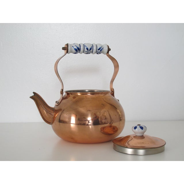 Traditional Copper Teapot - Image 4 of 4