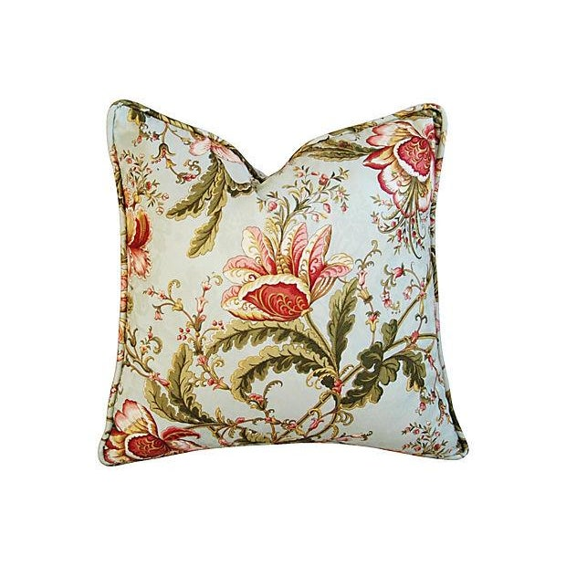 Custom Swavelle Mill Creek Floral Pillows - A Pair - Image 6 of 7