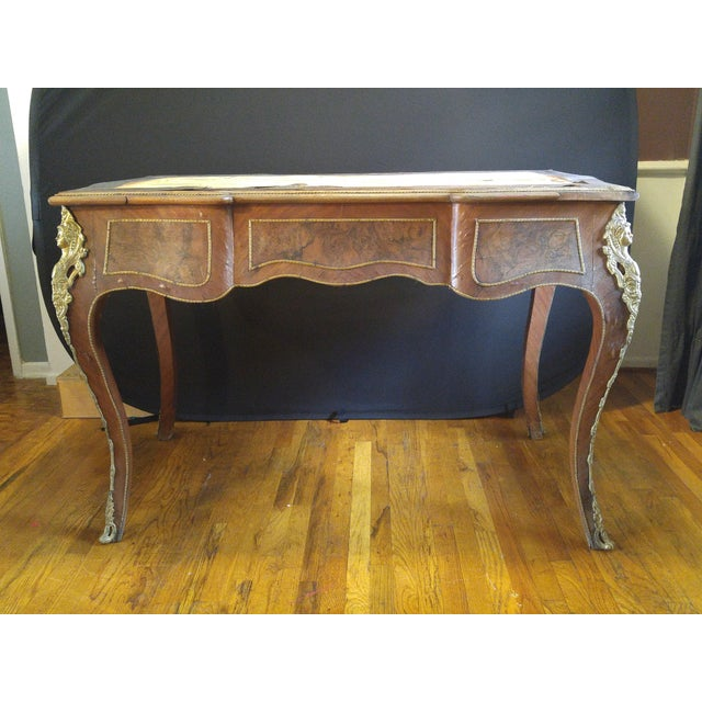 Louis XV 19th Century Louis XV Writing Desk For Sale - Image 3 of 11