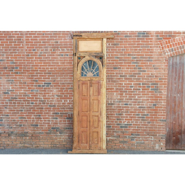 1800's Indo Portuguese Tall Slim Door For Sale - Image 10 of 11