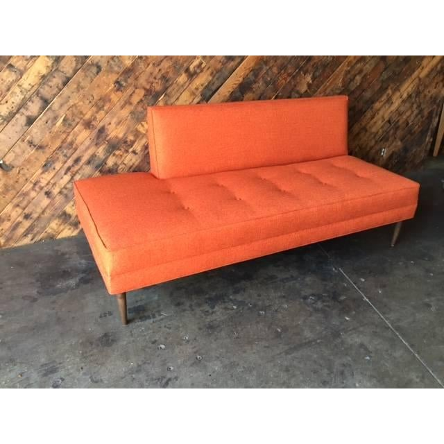 Mid Century Style Custom Day Bed Sofa - Image 4 of 6