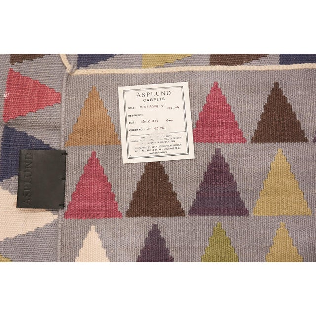 Vintage Swedish Kilim For Sale In New York - Image 6 of 8
