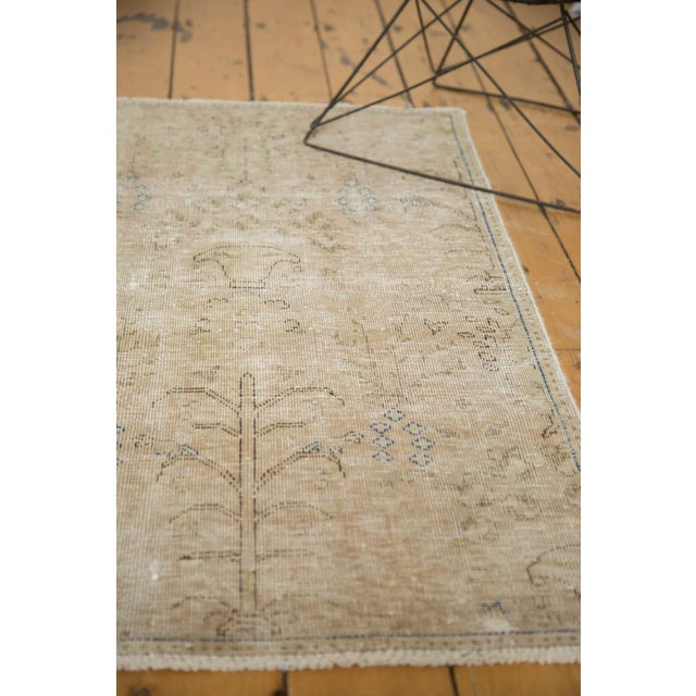 """Vintage Distressed Meshed Rug - 2'5"""" X 4'3"""" For Sale In New York - Image 6 of 10"""