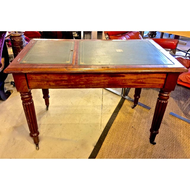 Regency or William IV Writing Table/Desk with Book Stand For Sale - Image 10 of 10