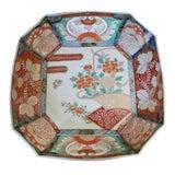 Image of Late 19th Century Vintage Japanese Meiji Imari Porcelain Bowl For Sale