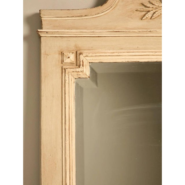 Circa 1890 French Painted Mirror - Image 6 of 11