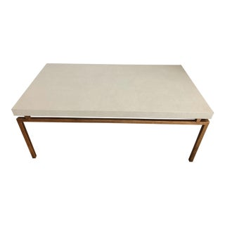 Contemporary Made Goods Shagreen Cocktail Table For Sale