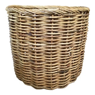 Large Rattan Plant Planter For Sale