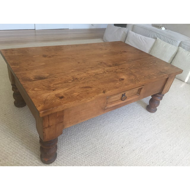 Vintage Bun-Foot Coffee Table For Sale - Image 9 of 11