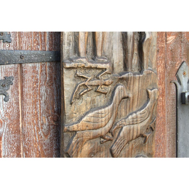 Nagaland Tribal Carved Panel For Sale In Los Angeles - Image 6 of 10