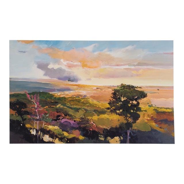 John Maxon Limited Edition Landscape Print For Sale