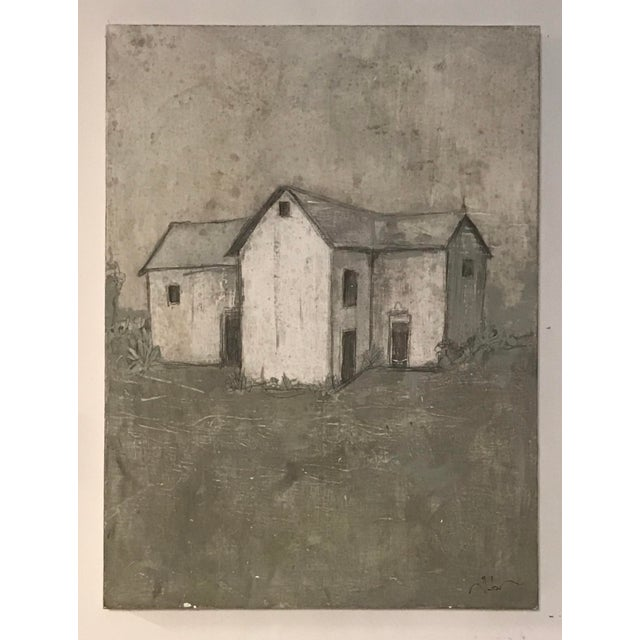 """""""Farmhouse"""" Painting by Allen Kerr For Sale - Image 4 of 4"""