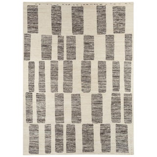 Contemporary 'Coco Drum' Rug - 10′ × 14′ For Sale