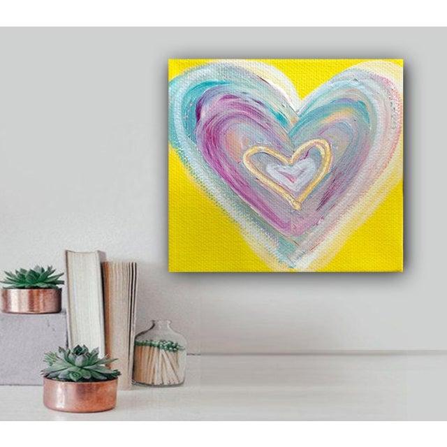 'Summertime Heart' Original Painting by Linnea Heide - Image 2 of 4