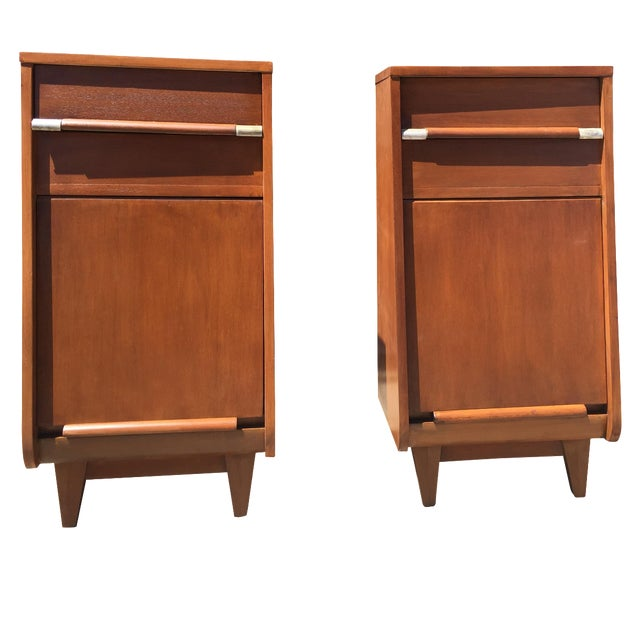 Tall Mid-Century Nightstand - One Left! - Image 1 of 5