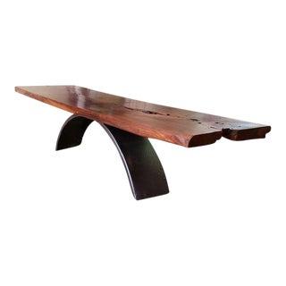 """""""Balance"""" Reclaimed Wood Coffee Table"""