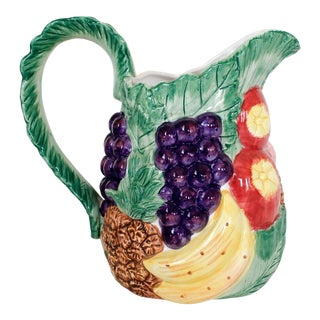 Fitz & Floyd Fruit Pitcher
