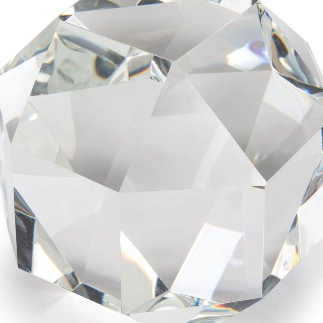 Crystal Octahedron Large For Sale - Image 4 of 5