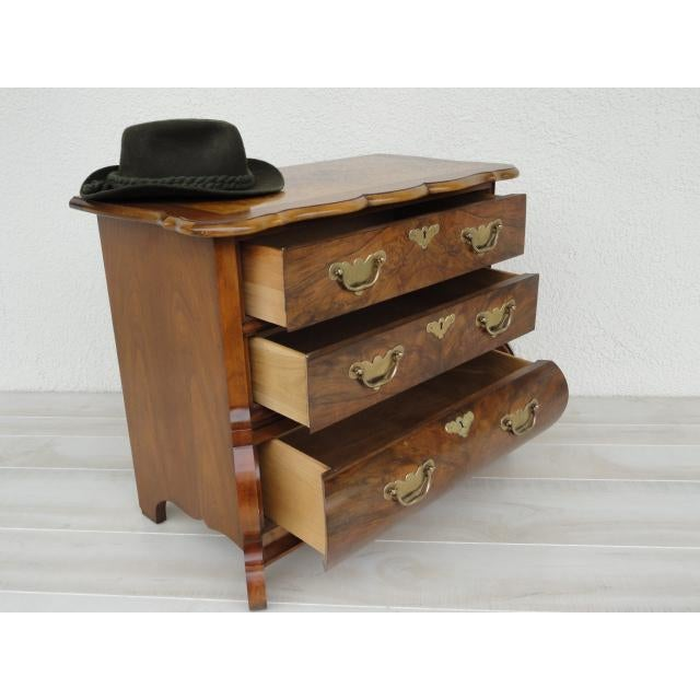 Metal 20th Century Traditional Baker Furniture Mahogany Nightstand For Sale - Image 7 of 13