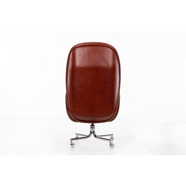 1970s DoMore Executive Desk Chair For Sale - Image 5 of 12