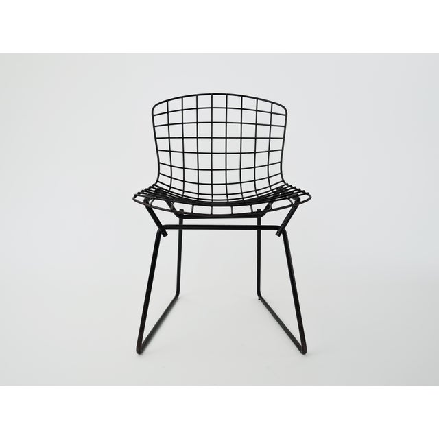 Children's 1960s Mid-Century Modern Harry Bertoia for Knoll Child Chair For Sale - Image 3 of 9