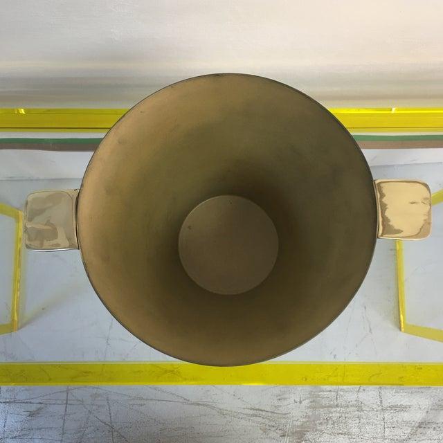 1940's Art Deco Brass Ice Bucket - Image 3 of 7