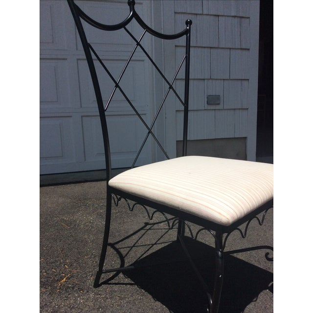Ruthie Sommers Outdoor Metal Chairs - Set of 6 - Image 3 of 7