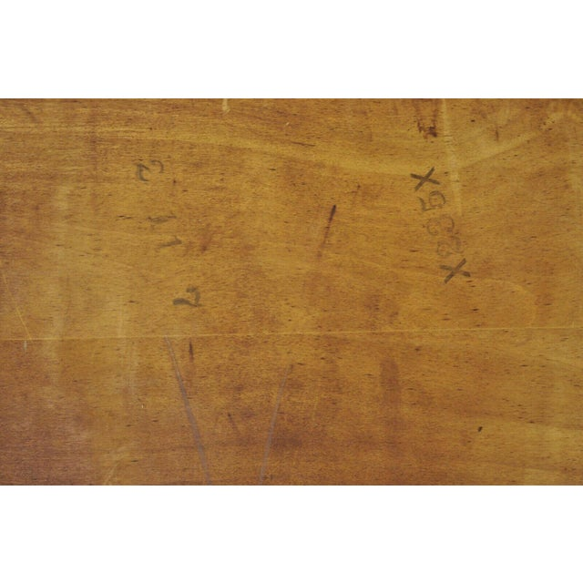 Mid Century Modern Walnut Rectangular Side Table For Sale - Image 9 of 11
