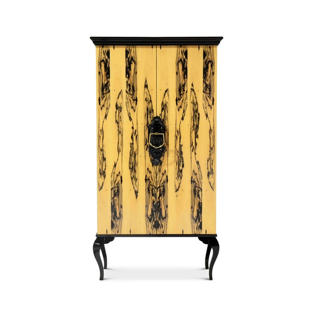 Not Yet Made - Made To Order Covet Paris Guggenheim Ebony Royal Cabinet For Sale - Image 5 of 5