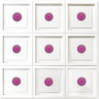 Natasha Mistry Minimalist Geometric Ink Drawings - Set of 9 Preview