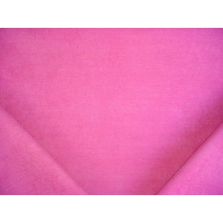 Robert Allen Lined Orchid Chenille Drapery/Upholstery Fabric - 6-1/8y For Sale