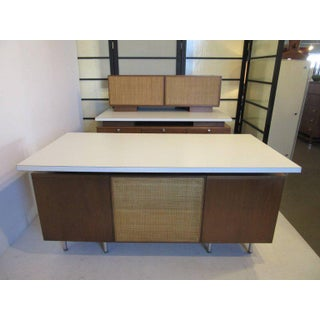 George Nelson Desk and Work Station Set from a National Historic Landmark For Sale