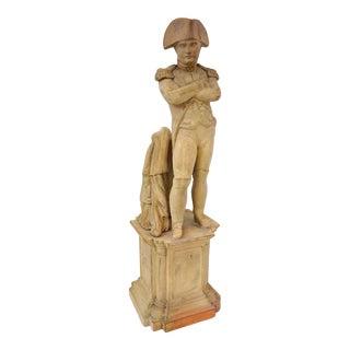 Antique 19c Grand Tour Napoleon Figure in Terra Cotta For Sale