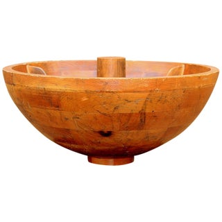 Decorative Craftsman Wood Bowl