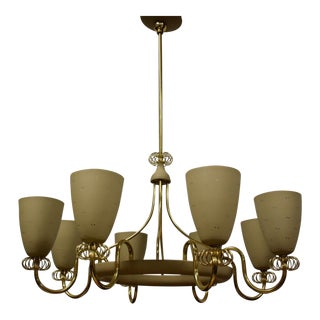 Paavo Tynell for Lightolier Chandelier For Sale