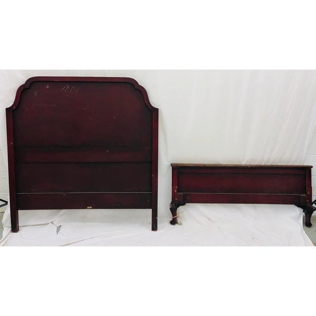 Antique Chinoiserie Bed For Sale - Image 12 of 13